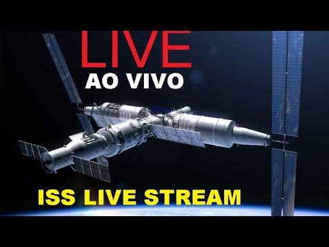 Earth From Space    ISS Tracker + Live Chat   ISS Live Stream LIVE 07