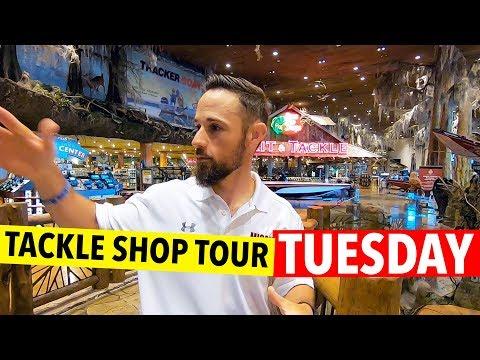 Tackle Shop Tour - Bass Pro Shop (The Mothership)