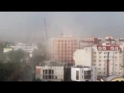 Furtună în Chişinău.