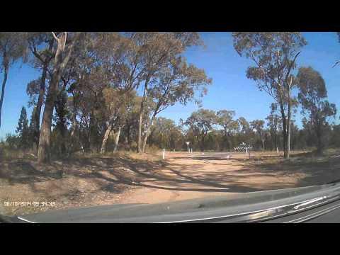 Uniden IGo CAM 320 Test Video