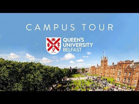 Student tour of campus - Queen's University Belfast