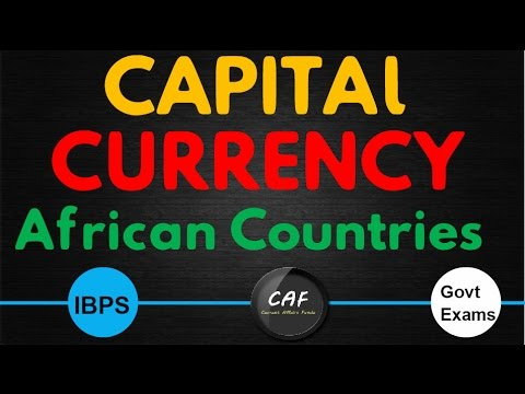 Capital Currency (African) | IBPS PO , Clerk , Sbi PO , Clerk | All Govt Exams