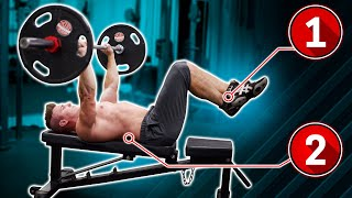 Benching With Feet Up = Faster Chest Growth? (NEW STUDY EXPLAINS!)