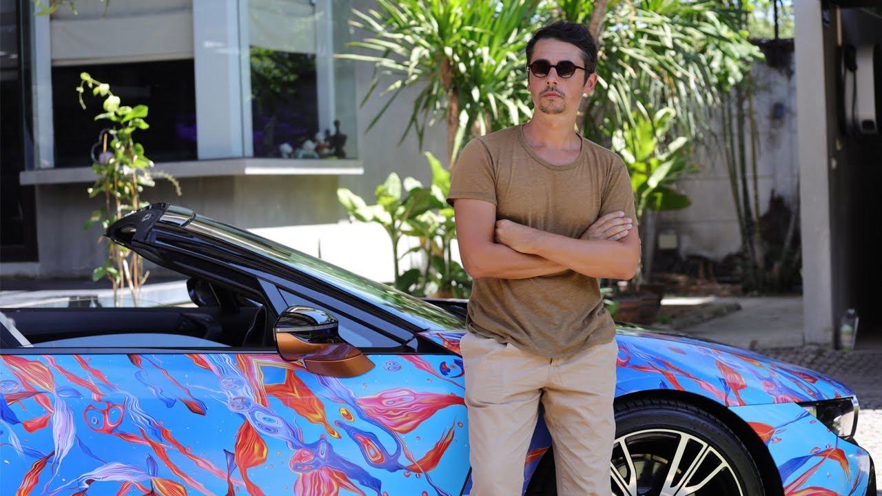 1 ใน 9 ศิลปินของโปรเจกต์ BMW Unbound World of Art Series โดย Andrei Robu