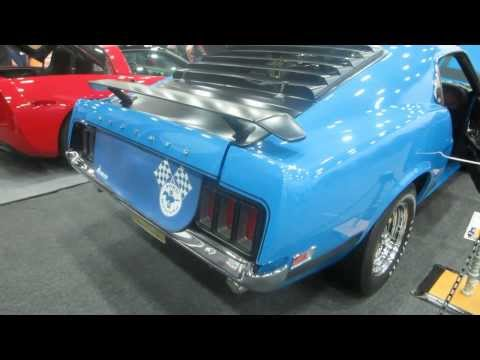 1970 Ford Mustang Boss 302 At 2014 Detroit Autorama
