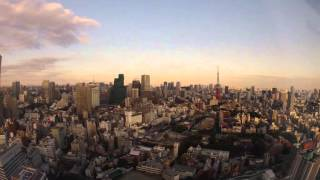 Tokyo Skyline - Timelapse