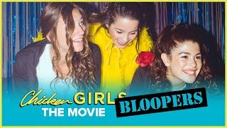 CHICKEN GIRLS: THE MOVIE | Bloopers | Annie & Hayden