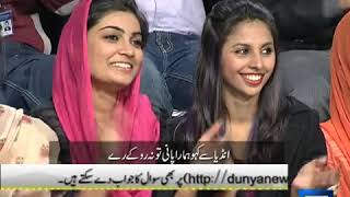 Dunya News -- Mazaaq Raat - 19-May-2014 (Repeat)
