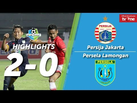Persija Jakarta Vs Persela Lamongan 2-0 All Goals & Highlights