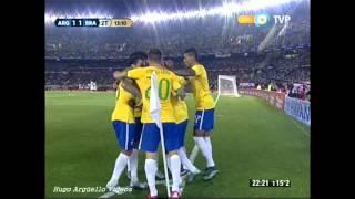 Download Video Argentina vs  Brasil Eliminatorias Russia 2018 MP3 3GP MP4