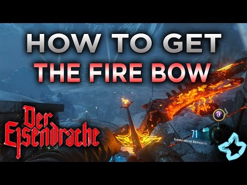 DER EISENDRACHE - HOW TO GET THE FIRE BOW (Call of Duty Black Ops 3 AWAKENING)