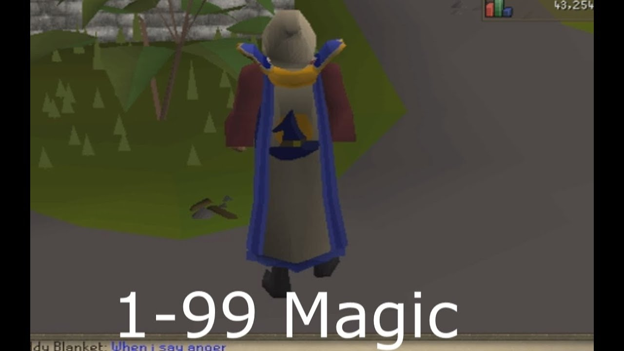 how to get 99 magic osrs