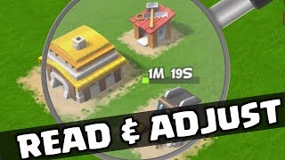 READ BASES & ADJUST ATTACKS IN CLASH OF CLANS