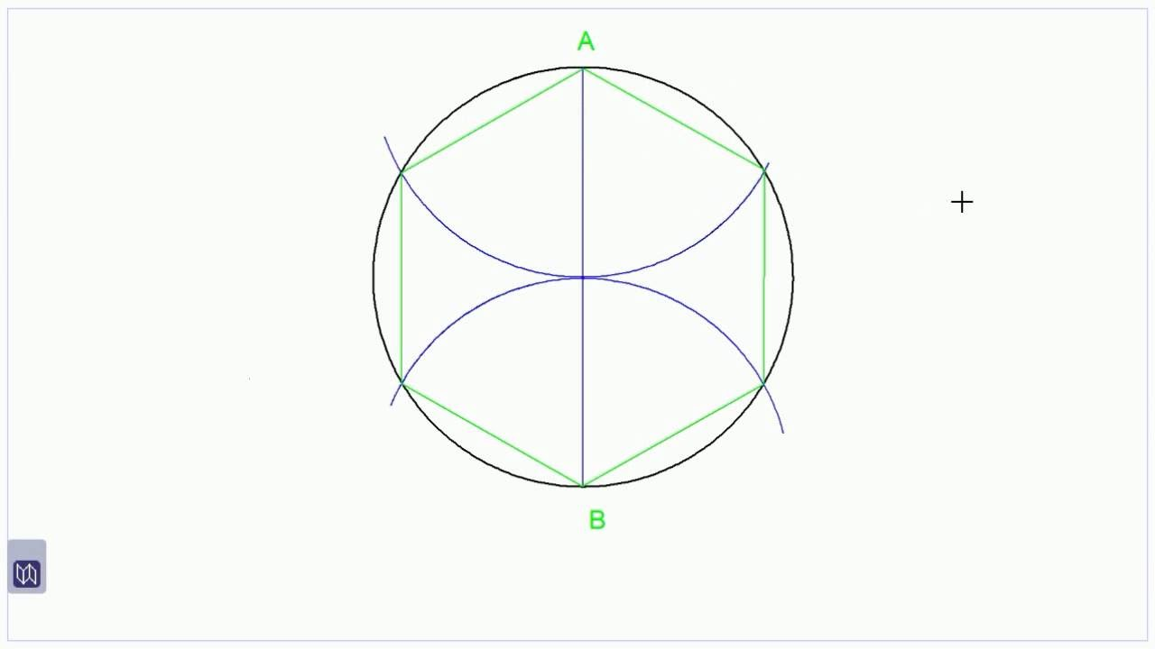 How To Divide A Circle Into 5 Equal Parts Without A Protractor Or Compass
