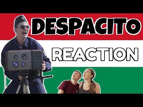 DESPACITO PARÓDIA REACTION!  🇭🇺