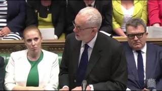 Ian Austin MP heckles Jeremy Corbyn during Commons speech