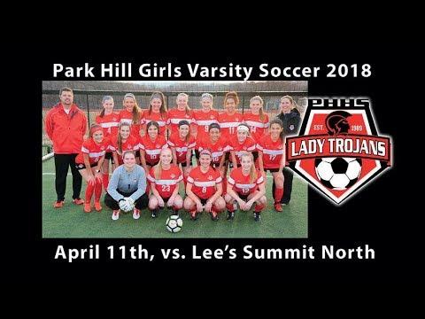Park Hill Girls Soccer vs. Lee's Summit North. High School Varsity Girls Soccer 2018
