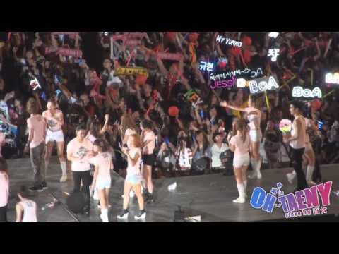 [Fancam] 100911 SNSD  - Ending @ SM TOWN 2010 Shanghai