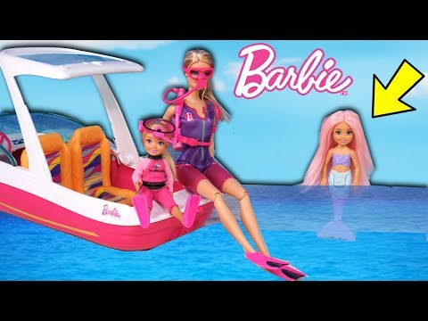 barbie-doll-mermaid-family-saves-chelsea---adventure-with-lol-goldie