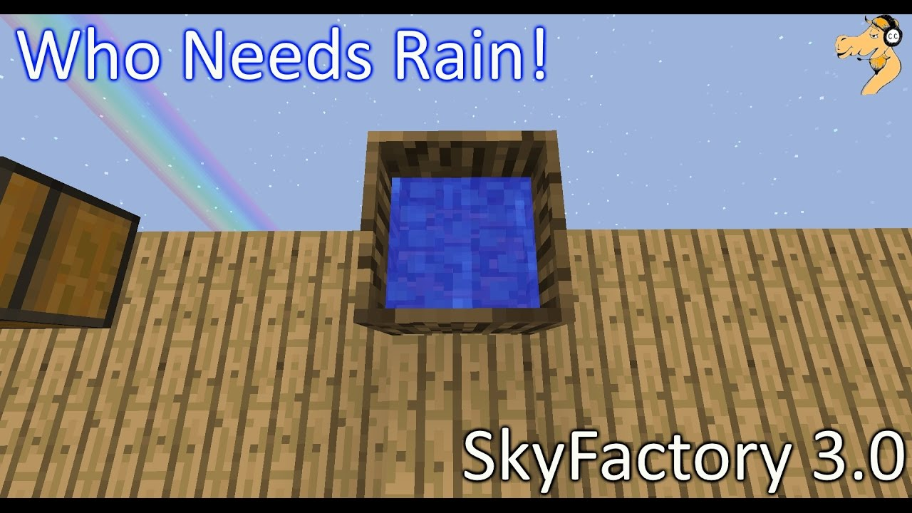 SkyFactory 3 0 - Modded Minecraft #2: Wood Crucibles can make Water!?