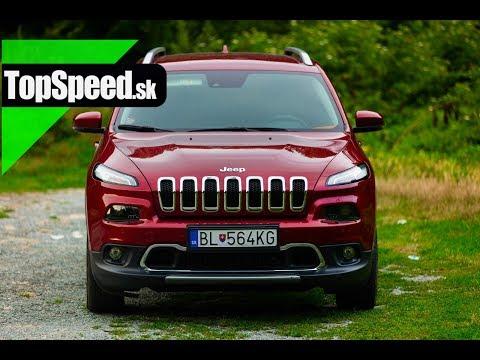 Test: Jeep Cherokee 2.2 diesel TopSpeed.sk