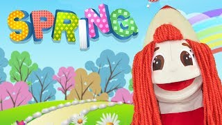 Spring Song - Super Simple Nursery Rhymes For Kids - Sing Along with Kiti.