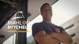 Mitchell for IAFF General President. United for our Future.