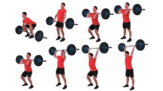The Power Clean and Push Jerk