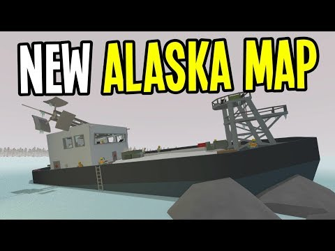 Unturned - New ALASKA MAP is AMAZING!! - Unturned Map Quick Tour