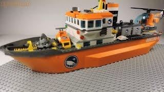 Lego 60062 Arctic Icebreaker Review | Арктический ледокол Обзор