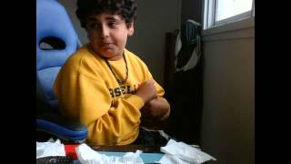 toilet paper eating challenge and funny magic