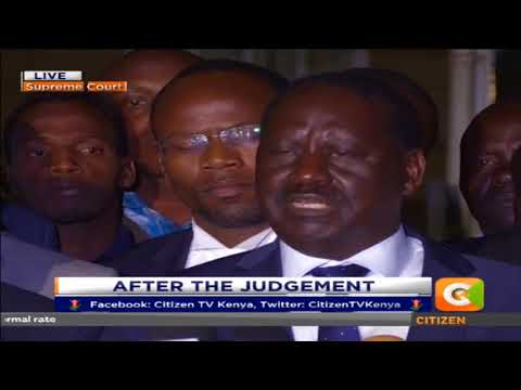We will not to go to an election until IEBC rectifies mistakes pointed - Odinga