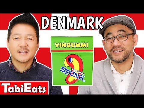 Japanese Try Danish Snacks