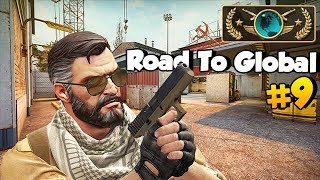 Intense Game! CSGO #RoadToGlobal Ep 9 /w Synclaire