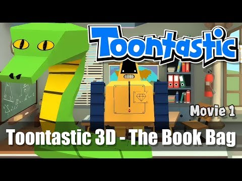 Toontastic 3D - Movie #1 - The Book Bag by BWoT - Creative Storytelling App from Google