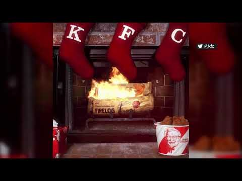 None - KFC Is Selling a Fried Chicken-Scented Fire Log