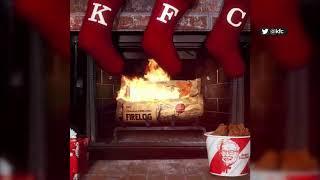 KFC sells firelog that smells just like fried chicken