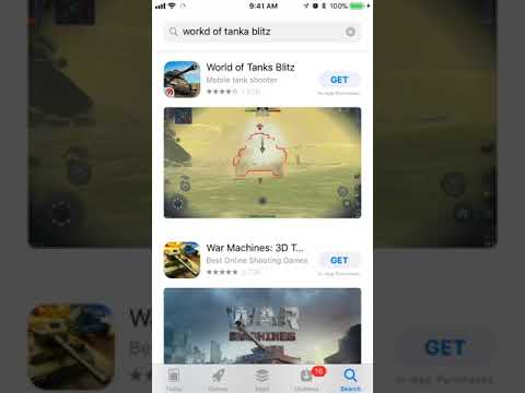 world of tanks blitz app store preview video