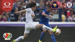 La Máquina le pasa encima a Pumas | Resumen UNAM 1 - 2 Cruz Azul | A2018 - J15 | Televisa Deportes