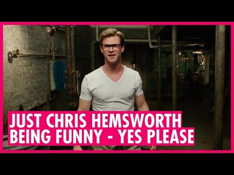 Chris Hemsworth funniest moments: Can't wait for Ghostbusters