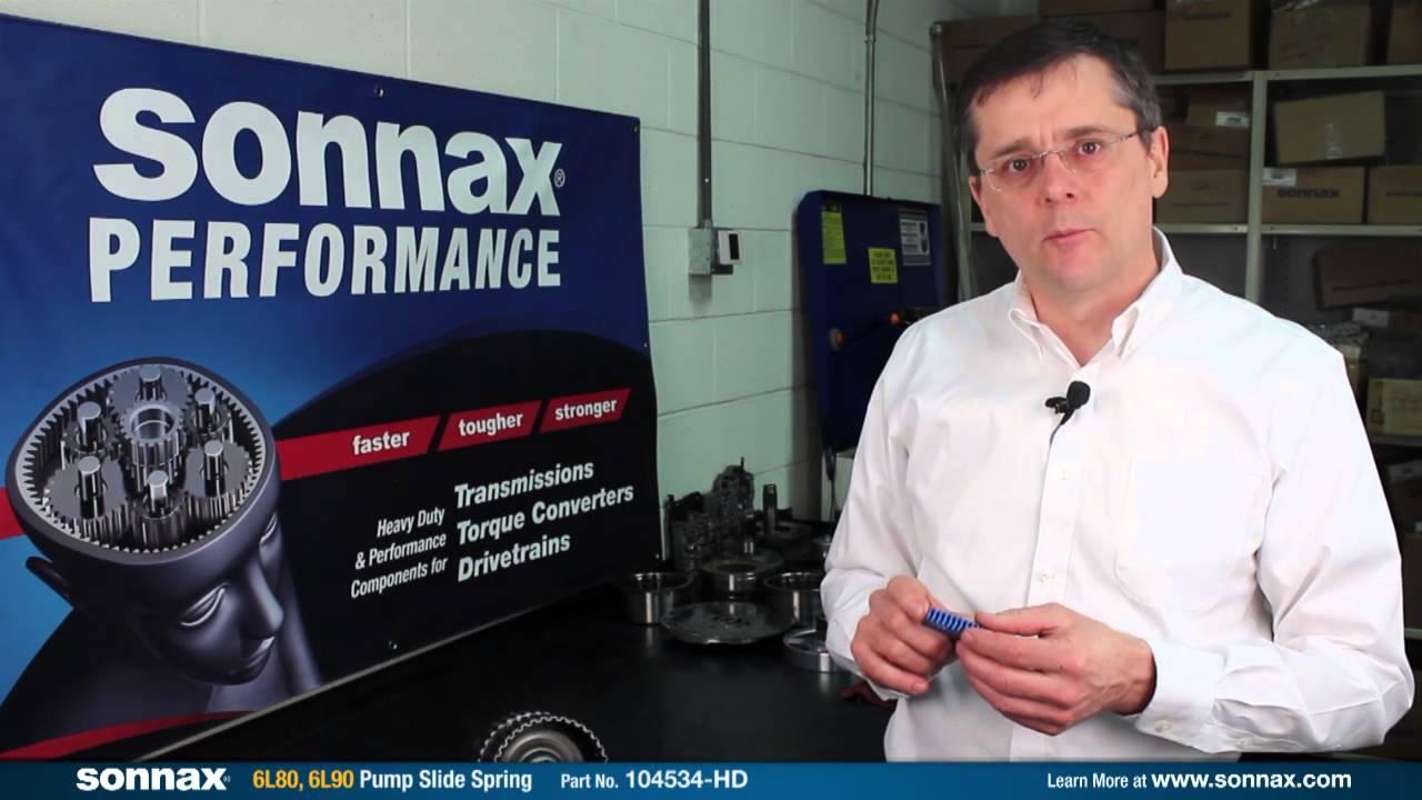 Sonnax GM 6L80 Series Transmission Upgrades & Repairs