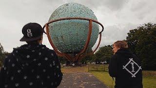 abandoned loudoun castle theme park scotland urban exploring