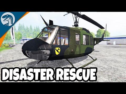 NATURAL DISASTER RESCUE & NATIONAL GUARD   Farming Simulator 17 Multiplayer Gameplay