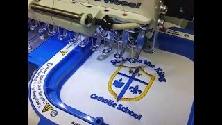 Embroidery St  Louis the King Catholic School logo