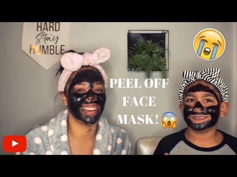 CHARCOL PEEL OFF FASK MASK! | Absolutely Alejandra