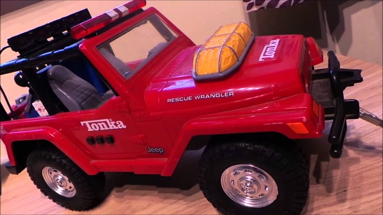 2001 Jeep Wrangler By Daimler Chrysler Toy By Hasbro Tonka 42 Cm
