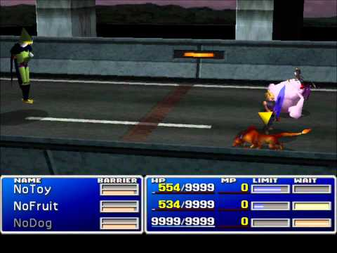 Final Fantasy VII - Hardcore Hack - Beating Incommensurable Cell DBZ
