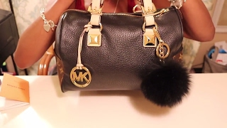 LOUIS VUITTON MEETS MICHAEL KORS PURSE REVEAL+CHIT CHAT WITH ME