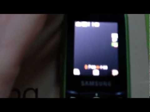 Samsung E200 ECO Orange