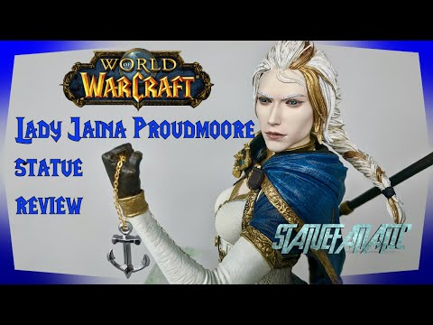 World Of Warcraft Lady Jaina Proudmoore Blizzard Statue Review